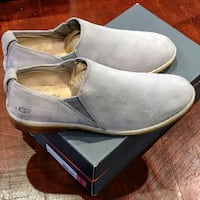 Uggs Grey Suede Camellia Loafers Temple Hills, 20748