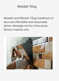 Tile installation, Tile removal and tile repair  Toronto