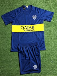 Boca Juniors  Soccer uniform jersey & short Home .New. Miami, 33187
