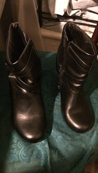 Pair of brown leather boots Ellenville, 12428