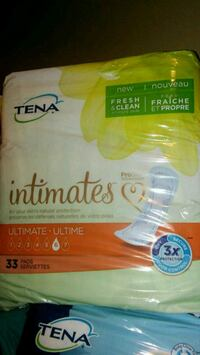 Tena Pads bladder control #6 new intimates  Rosedale