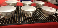 Never used tea cups all 6 for $5 Toronto, M1T 2A7