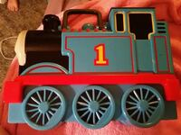 Thomas the train, train holder with names Anderson