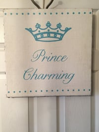 """16x16  """"Prince Charming"""" Canvas picture"""