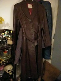 Brown Leather, coat.pure leather....need to go asa North Platte, 69101