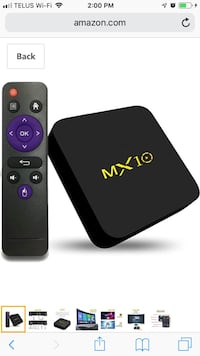 MX 10 Android Box 64 GB  Milton, L9T 0K7