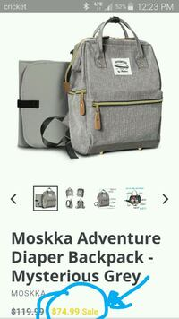 Moskka Adventure diaper bag  Hillsboro, 97124