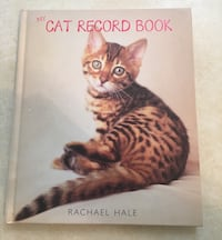 Cute Cat Record Book
