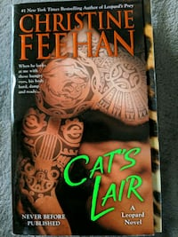 Cat's Lair by Christine Feehan book Vancouver, 98682