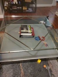 big glass coffee table Edmonton, T5T 2A5