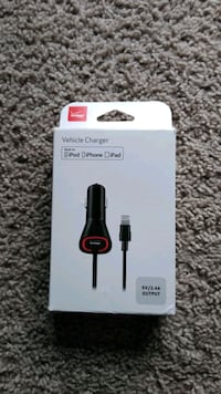 New Verizon 2.1A Vehicle  Charger For Apple .. Frederick