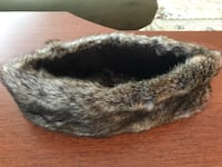 Faux fur head band, never used Alexandria, 22301