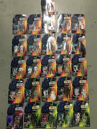 Star Wars POTF Lot (26) action figures null