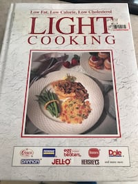 Book - light cooking Montreal