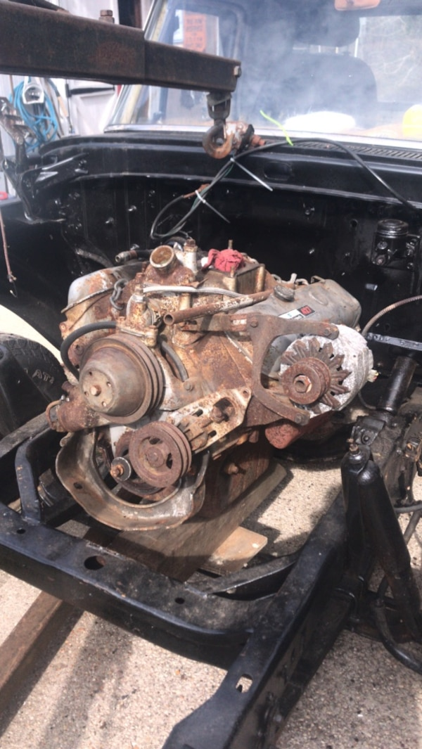 427 Chevy Big Block W Turbo 400 Transmission Running When Removed 86 120k