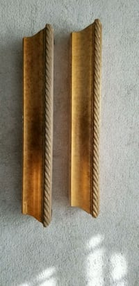 Gold wall shelves 41 km