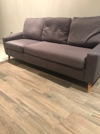Grey sofa- ideal for small spaces  Vaughan, L4H