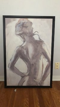 woman in white dress painting Bakersfield, 93301