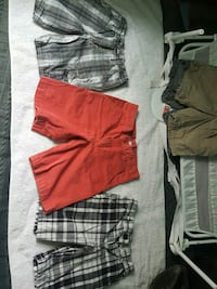 red and gray shorts and white shorts San Juan, 78589
