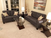 Brand new grey sofa and loveseat  Houston, 77064