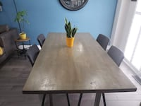 Dining Table and Chairs Ajax