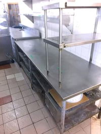 Stainless Steel Restaurant Table Toronto, M6S 1M8