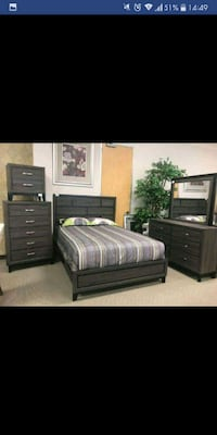 Brand New 5pc. Queen bedroom set Austin