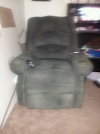 Gray Lift Chair with heater and vibrator Garland, 75043