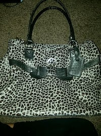 black and white leopard print tote bag Las Vegas, 89107
