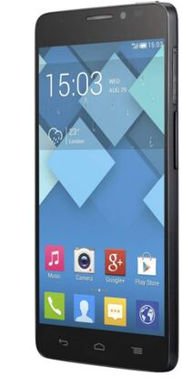 "Alcatel One Touch Idol X(6040a)-unlocked – Black, 5"", 13MP Camera Ottawa"