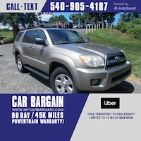 2007 Toyota 4Runner SR5 Sport Warrenton, 20186