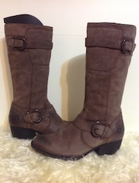 Born shoes brown knee high boots: size 7