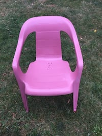 pink and purple plastic chair Fredericton, E3A 2X1