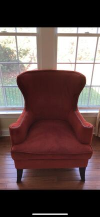 Orange accent chair  Ashburn, 20148