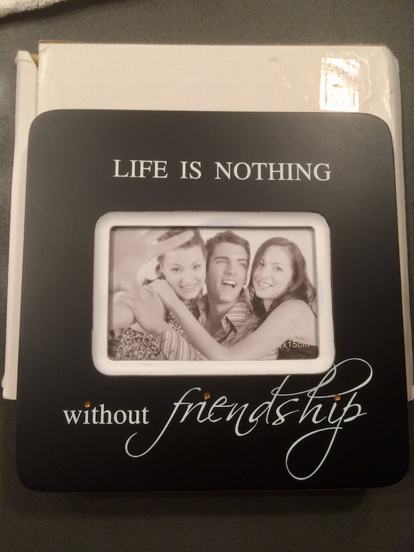 REDUCED! GIFT IDEAS!  NEW - FRIENDSHIP Photo Frame