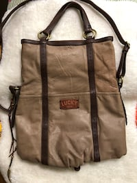 Lucky Brand Leather 2-tone multi-way bag Toronto, M2J 2C4