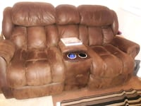 brown home theater sofa Falmouth, 22405