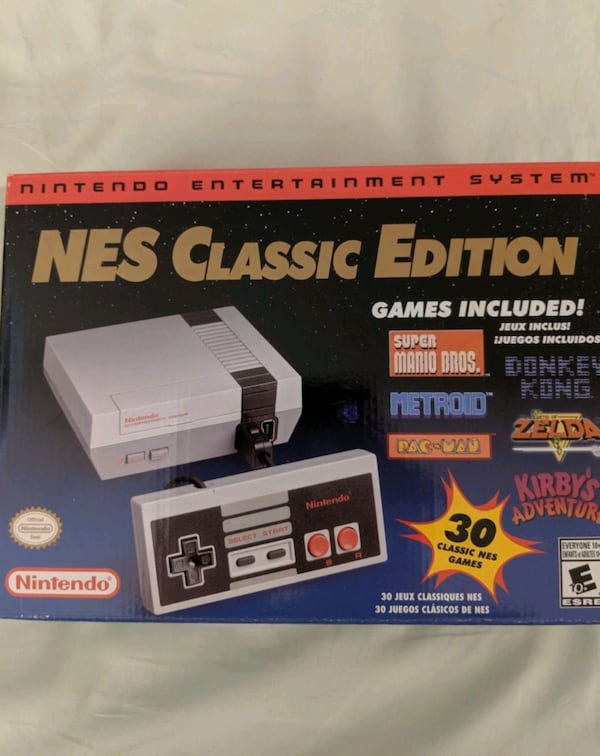 NES New Classic Edition Console with Loaded Games 302fb3c7-978b-4d42-bb03-b51fe73327cc
