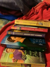 5 Amish books $10.00 for all New Concord, 43762