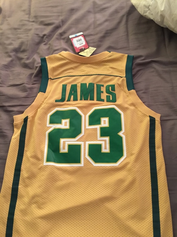 outlet store 63583 34cfd Lebron James Highschool Jersey
