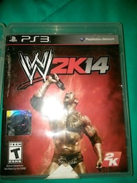Xbox One WWE 2K17 game case Detroit, 48201