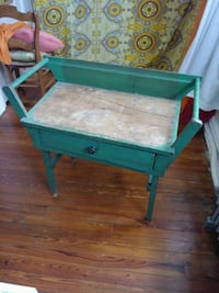 Antique wash basin table. Solid wood. Over 100 years old. Baltimore, 21218