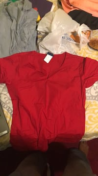 4 Sets of Nursing Scrubs. Top and bottom for $25 each. Worn once or never Randallstown, 21133
