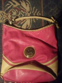 pink and brown leather crossbody bag West Monroe, 71292