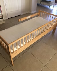 Toddler bed with guardrail Mission, 78572