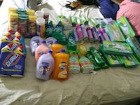 assorted household cleaning products lot New Haven, 06513