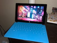 Microsoft Surface with Keyboard Cover  1031 mi