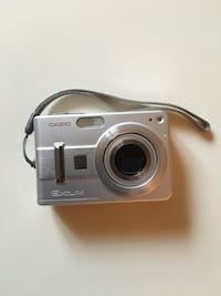 Silver casio exilim camera - uses SD discs Winchester, 22602