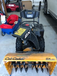 Cub cadet two stage gas snow blower.