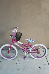Kid's pink and white bicycle Riverside, 92507